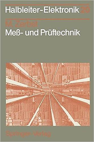 Meß- und Prüftechnik (Halbleiter-Elektronik)