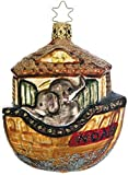 Inge-Glas Noah's Ark German Glass Christmas Ornament #40231806
