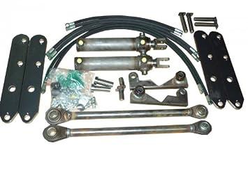Hydraulische gerätebetätigung zum nachrüsten für frontlader mit 2