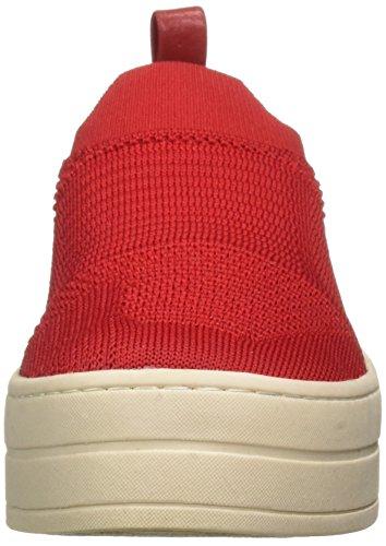 J Glisse Rouge Baskets Pour Femmes Hilo