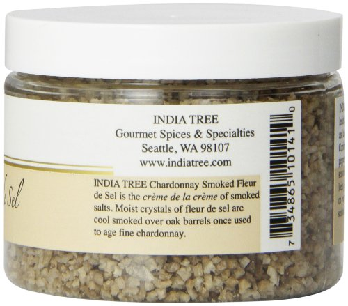 India Tree Chardonnay Smoked Fleur de Sel, 5.5 oz by India Tree (Image #1)