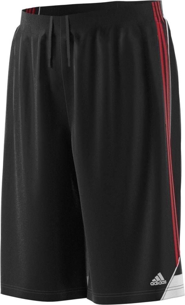 Adidasメンズ3Gスピード ビッグ&トール ショートパンツ B075B22QHVBlack-Scarlet MT
