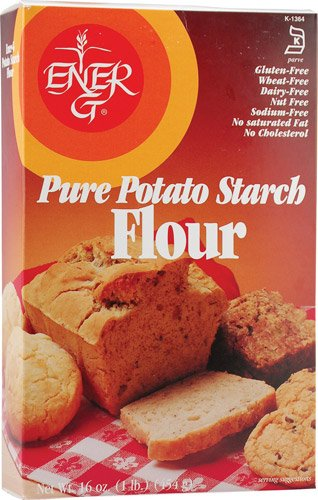 Ener-G Pure Potato Starch Flour Gluten Free -- 16 oz - 2 pc by Ener-G