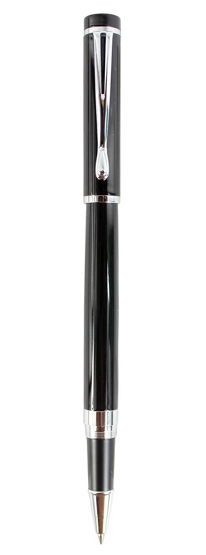 Sipliv classica penna roller liscia 521, ricariche nere, nero 29-521A2