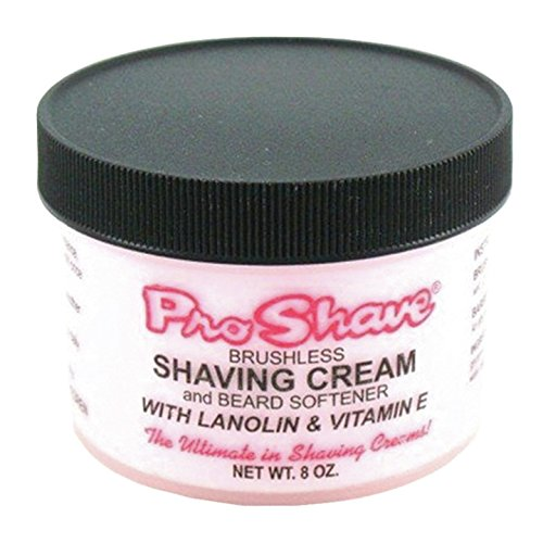 Cream Shave Brushless (Pro-Shave Shaving Cream, 8 Ounce)