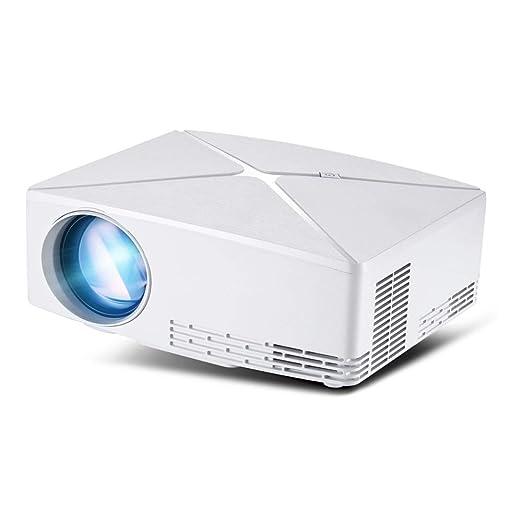 ZCCZ-AA C80 proyector 720p Clase HD Mini Moda Inicio proyector ...