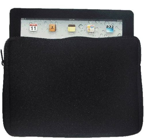 10 inch Rikki KnightTM ShoeHolic Snow Boot Design Laptop sleeve - Ideal for iPad 2,3,4, iPad Air, Galaxy Note, Small Notebooks and other Tablets