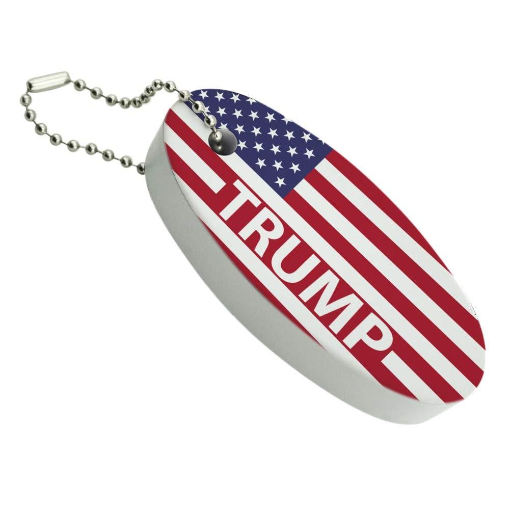 Amazon.com: Presidente Trump bandera americana llavero barco ...