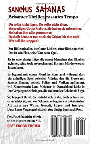Sanctus Satanas - Das 5. Gebot: Thriller (German Edition)