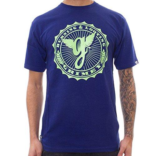 Grimey Camiseta Classic Logo SS14 Metro Blue S