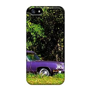 New Shockproof Protection Case Cover For Iphone 5/5s/ Purple Old Pontiac Case Cover