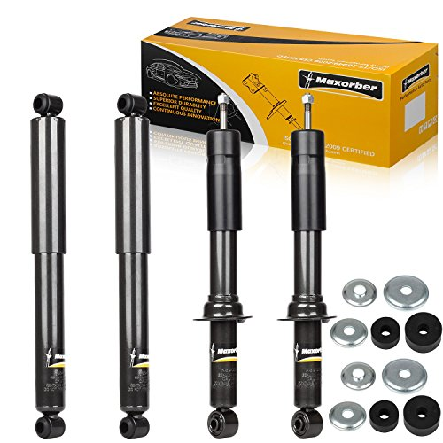 Maxorber Full Set Shocks Struts Absorber Kit Compatible with 1995 1996 1997 1998 1999 2000 2001 2002 2003 2004 Toyota Tacoma KG9024 344428 - Prerunner 2000 Toyota Tacoma