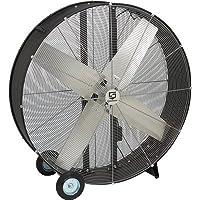 Strongway Open Motor Direct-Drive Drum Fan - 48in., 2/3 HP, 18,900 CFM