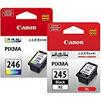 Genuine Canon PG-245 XL High Capacity Black Ink Cartridge...