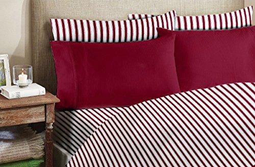 Homelux 4 Piece Egyptian Pillowcase Burgundy