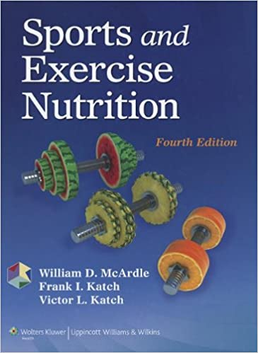 Sports And Exercise Nutrition 9781451118063 Medicine Health Science Books Amazon Com