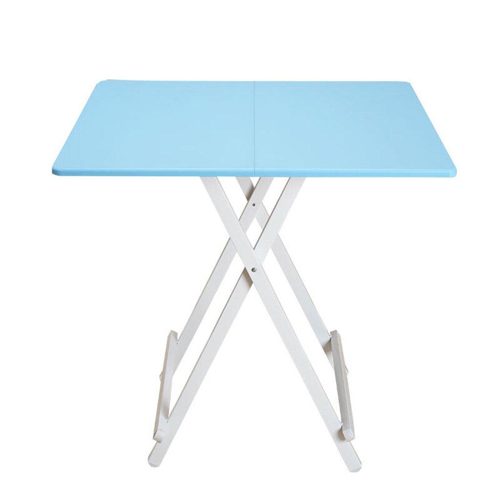 100%本物 TangMengYun TangMengYun 折り畳みテーブルダイニングテーブルホームスクエアテーブル小さなテーブルポータブルシンプルテーブル (Color : Blue, サイズ : Blue, 60*60*55CM 60*60*55CM) 60*60*55CM Blue B07DRGZH3M, おみやげ菱屋:8d94a104 --- diesel-motor.pl