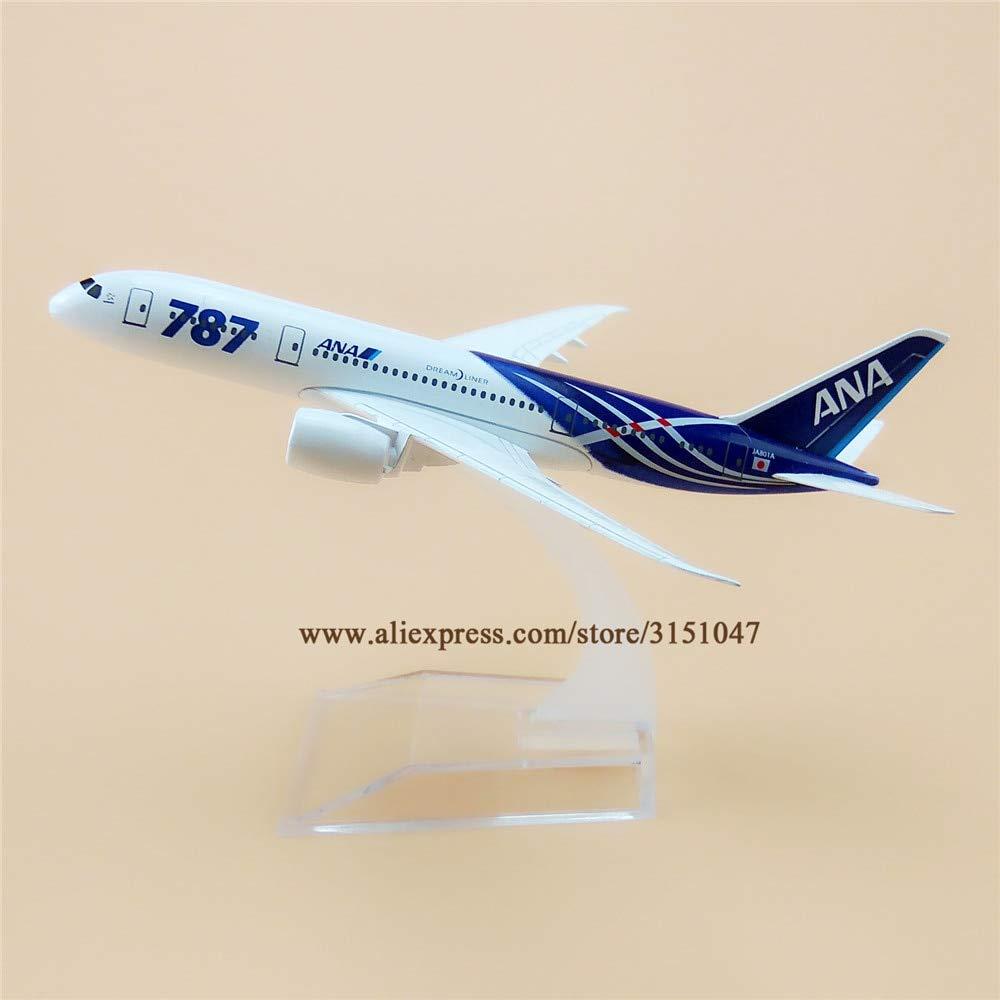 Ochoos 16cm エアジャパン ANA ボーイング 787 B787 飛行機 モデル 合金 メタル ダイキャストモデル 飛行機 航空機 ギフト B07NSCS131