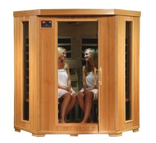 SA2420DX Tuscon Monticello 4 Person Infrared Sauna with 10 Carbon Heaters
