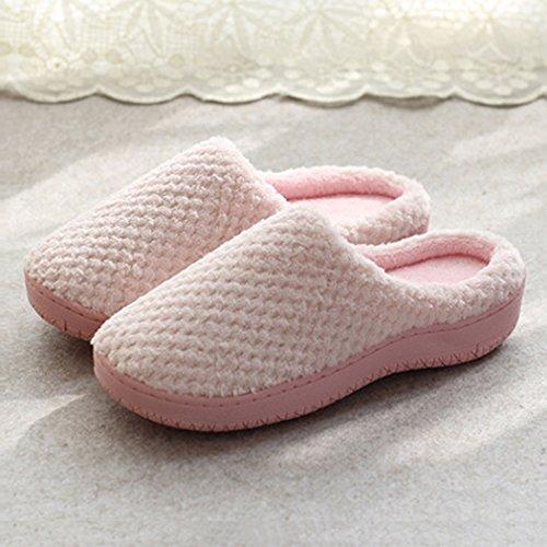 Maison Justdolife Chaussures De Les Anti Maison Douce Coton Hommes Plancher Femmes Intérieur Dérapant Pantoufles De Pink Pantoufles Pantoufles Pour D ppgSA
