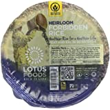 Lotus Foods Gourmet Rice Bowl, Heirloom Forbidden, 7.4 Ounce (Pack of 6)