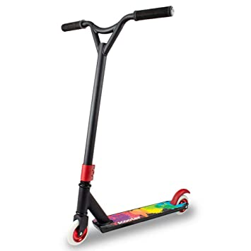 Yishelle Patinete de 2 Ruedas Fancy 2 Rondas Extreme Stunt Adult Pedals Scooter Adulto Scooter para niños, Unisex. (Color : Negro): Amazon.es: Hogar