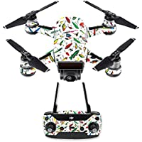 Skin for DJI Spark Mini Drone Combo - Bright Lures| MightySkins Protective, Durable, and Unique Vinyl Decal wrap cover | Easy To Apply, Remove, and Change Styles | Made in the USA