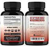 NutraChamps Korean Red Panax Ginseng 1000mg - 120