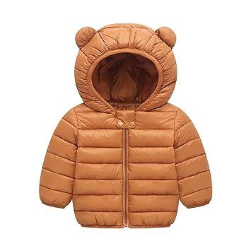Oyfel Abrigo Lingero Chaqueta Parka Resolve Jacket Casaca China Chica Invierno Nieve Polar Otono Rebajas Orejas Nino Nina Adecuado para Altura 120 cm: ...