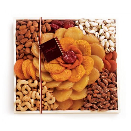 - Torn Ranch Rose California Dried Fruits and Nuts Gift Basket