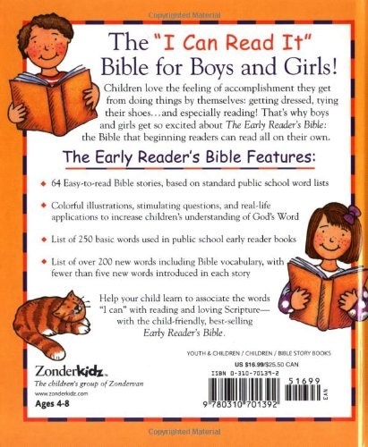 Early Readers Bible: V. Gilbert Beers: 9780310701392: Amazon.com ...