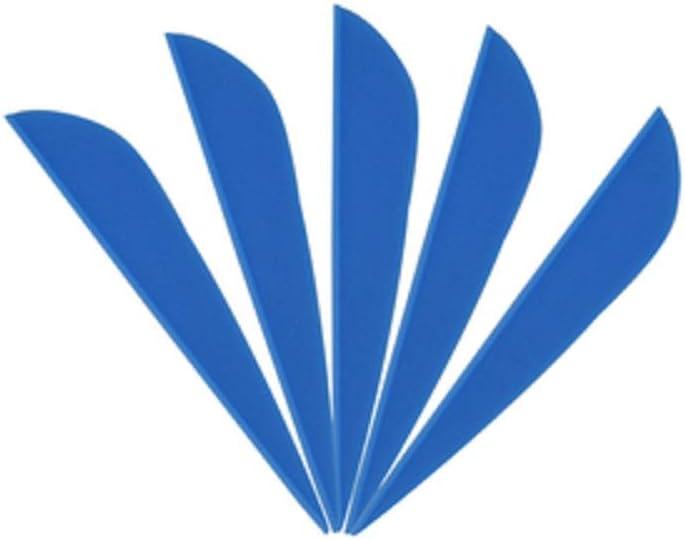 AMEYXGS 100pcs Tiro con Arco Flechas de Goma de Plumas de Flecha 3 Flecha Flecting para Eje de Flecha DIY