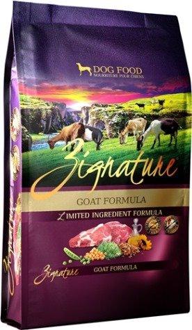 zignature dog food petsmart