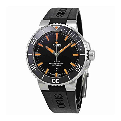 Oris Aquis Automatic Black Dial Mens Watch 01 733 7730 4159-07 4 24 64EB