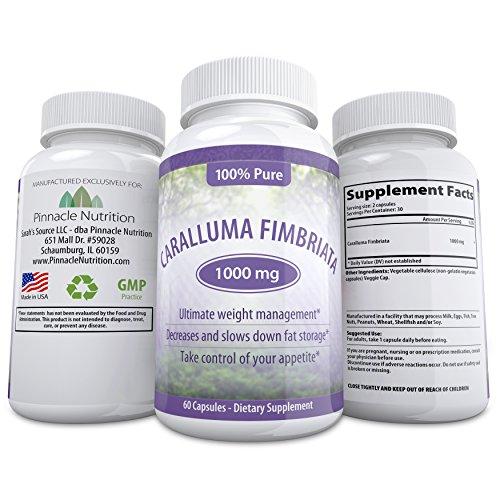 Быстродействующие Caralluma Fimbriata Выписка! 1000 мг капсулы - подавляет аппетит, уменьшает талии, увеличивает энергию и сжигает жир Естественно - Все-естественным, безопасным и эффективным дополнением - Опираясь на 100% гарантия Pinnacle в !!
