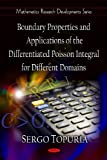Boundary Properties and Applications of the Differentiated Poisson Integral for Different Domains, Sergo Topuria, 1606927043