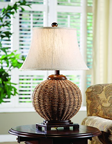 Crestview Collection Wicker Table Lamp -