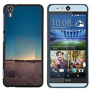 Stuss Case / Funda Carcasa protectora - Voir Horizon Paysage Désert - HTC Desire Eye M910x