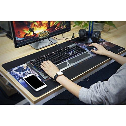 Durable Modeling Jialong Tapis De Souris Gaming Xxl Grand Sous Main