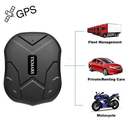 Car Tracker GPS,Hangang GPS Car Locator Strong Magnet,90 Days Long Time Standby,IP58 Waterproof, with Anti-lost Geo Fence Remote Real time Tracking for Cars SUVs Motorcycles Trucks Vehicles by Hangang