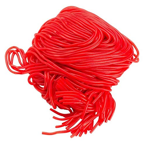 Gustaf's Strawberry Red Licorice Laces, NON-GMO Candy, 2 lbs