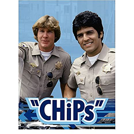 Erik Estrada 8 Inch x 10 Inch Photograph CHiPs (TV Series 1977