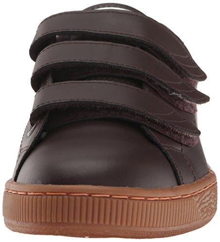 Black Men Strap Whisper Coffee Citi White Classic PUMA Basket Fashion Sneaker Bxdzw0Bqa6