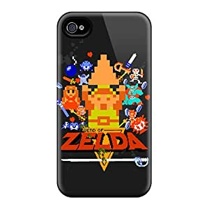 Iphone 6 AaE10606OtBP Custom Realistic Legend Of Zelda 8bit Image Shock Absorption Hard Cell-phone Cases -DannyLCHEUNG