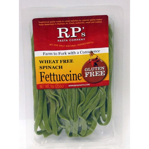 Gluten Free Spinach Fettuccine Brown Rice Pasta, Frozen - 9 oz (Pack of 12) (Rp Gluten Free Pasta compare prices)