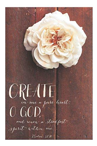 (Salt & Light Create in Me a Pure Heart Church Bulletins, 8 1/2 x 11 inches, 100 Count)