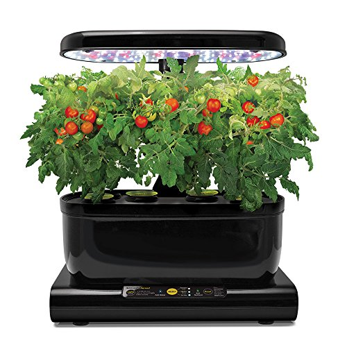 Miracle-Gro-AeroGarden-Harvest-with-Gourmet-Herb-Seed-Pod-Kit-Black