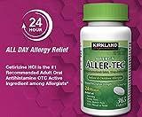 Kirkland Signature Aller-Tec Cetirizine HCL 10