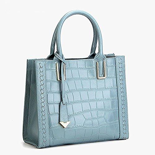 Sac main femme à en bandoulière fashion Valin M130 cuir LF portés Sac Bleu épaule Sac UcnqT74