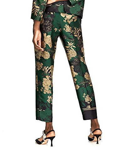 257fcc20 Zara Women Floral print trousers 8271/168 (X-Large): Amazon.ca: Clothing &  Accessories